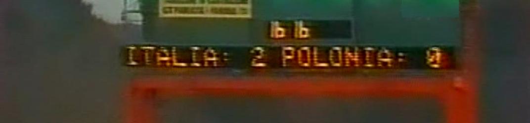 włochy - polska (08.12.1984)