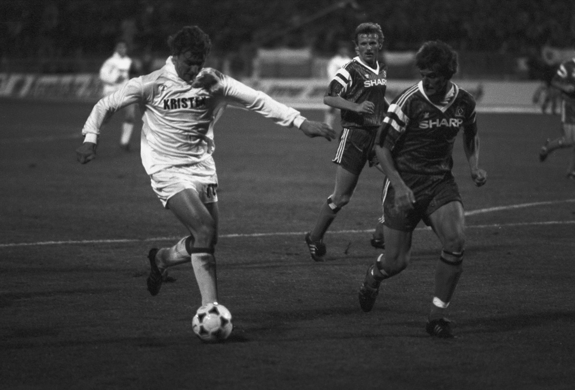 Górnik Zabrze - Hamburger SV 0:3 (02.10.1991)