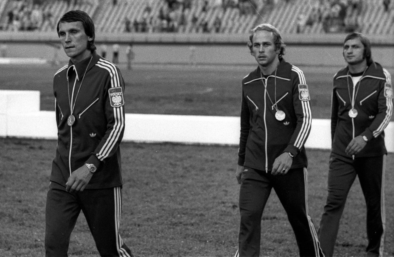 Srebrni medaliści igrzysk w Montrealu.