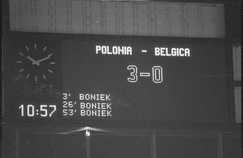 Polska - Belgia 3:0, 28.06.1982