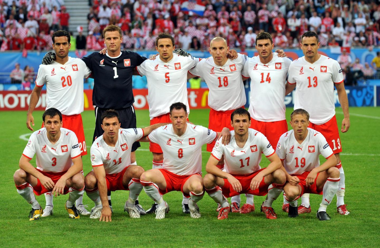 Podstawowa jedenastka reprezentacji Polski przed meczem z Chorwacją.