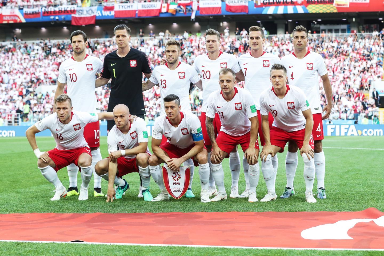 Podstawowa jedenastka reprezentacji Polski w biało-czerwonych strojach przed meczem z Senegalem.