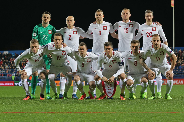 Wyjściowy skład Polski w meczu z Czarnogórą na wyjeździe.