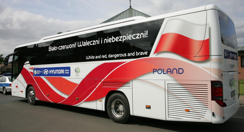 Autokar reprezentacji Polski 2006 - Waleczni i niebezpieczni.