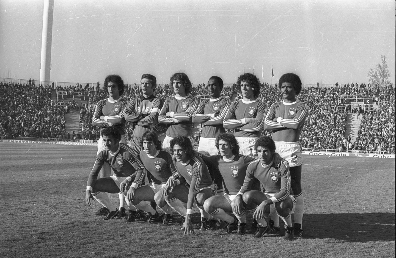 Reprezentacja Brazylii, która zamknęła reprezentacji Polski drogę do strefy medalowej argentyńskiego mundialu.