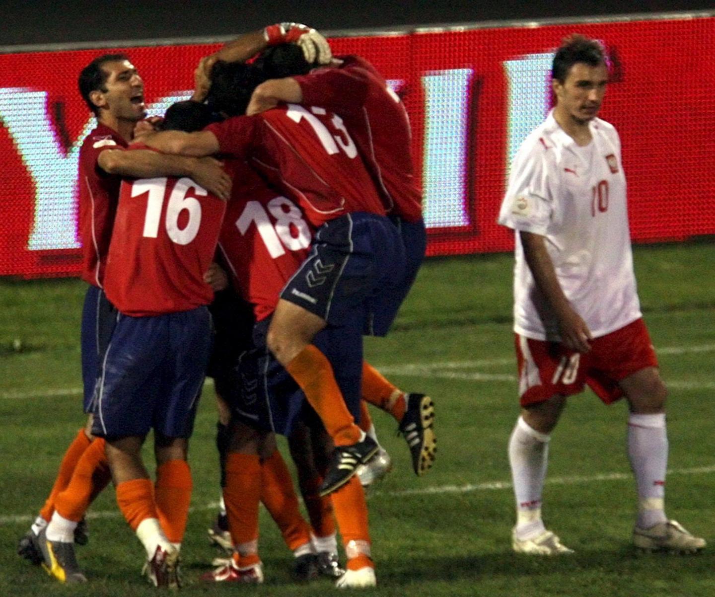 Armenia - Polska (06.06.2007)