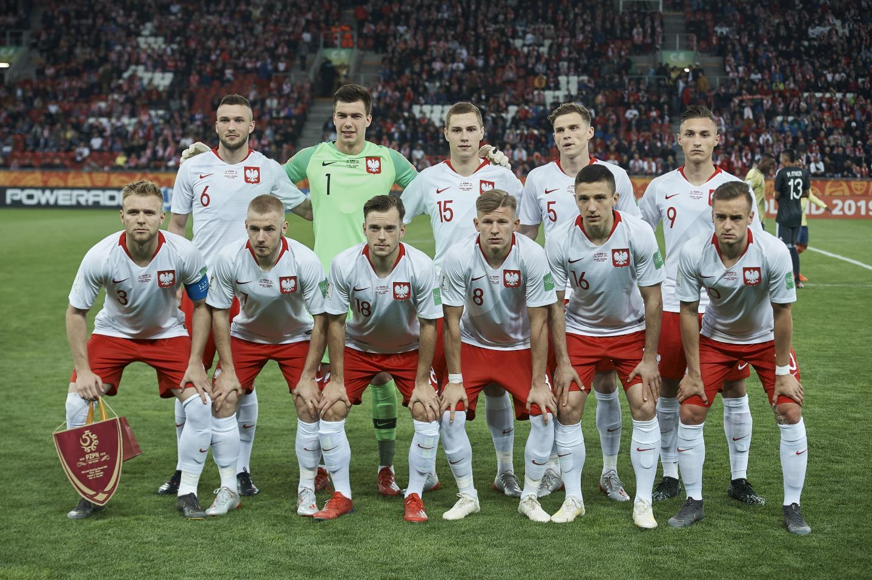Wyjściowy skład reprezentacji Polski do lat 20 w meczu MŚ z Kolumbią.
