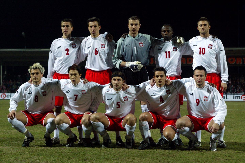 Reprezentacja Polski przed meczem z San Marino w Ostrowcu Świętokrzyskim.