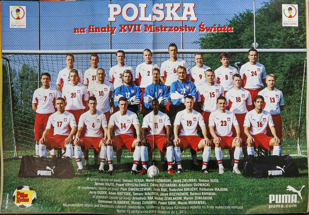 Reprezentacja Polski na MŚ 2002