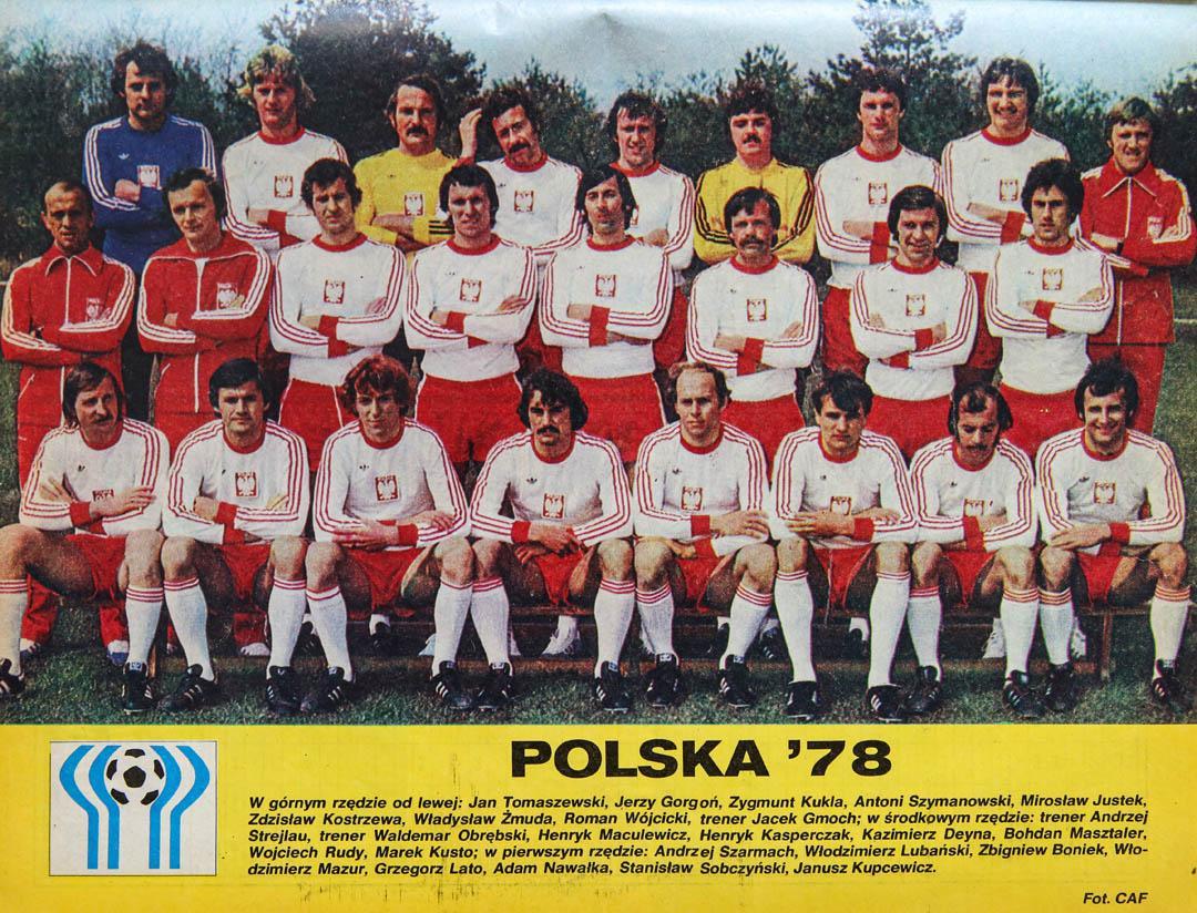 Reprezentacja Polski na mistrzostwa świata w Argentynie 1978 - zdjęcie Piłka Nożna