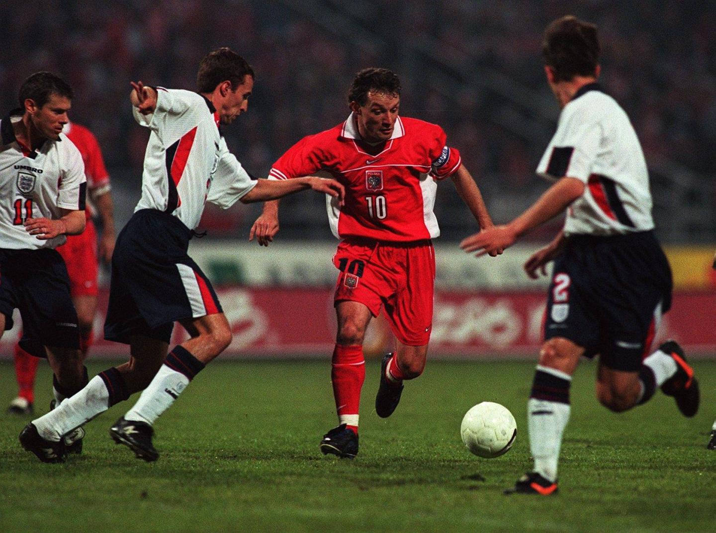 Polska - Anglia 0:2 (31.05.1997)