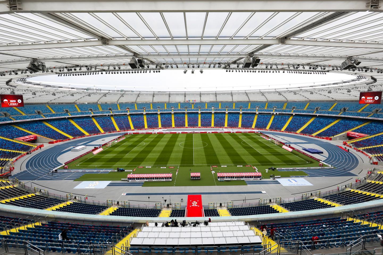 Stadion Śląski w pełnej krasie po gruntownej modernizacji.