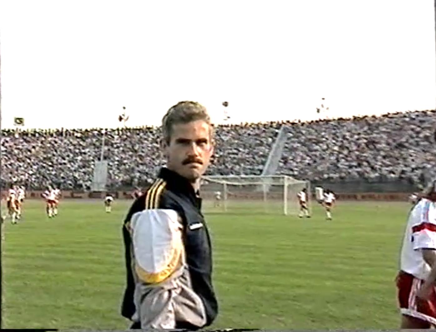 Sędzią technicznym w meczu Polska - ZSRR był Michał Listkiewicz.