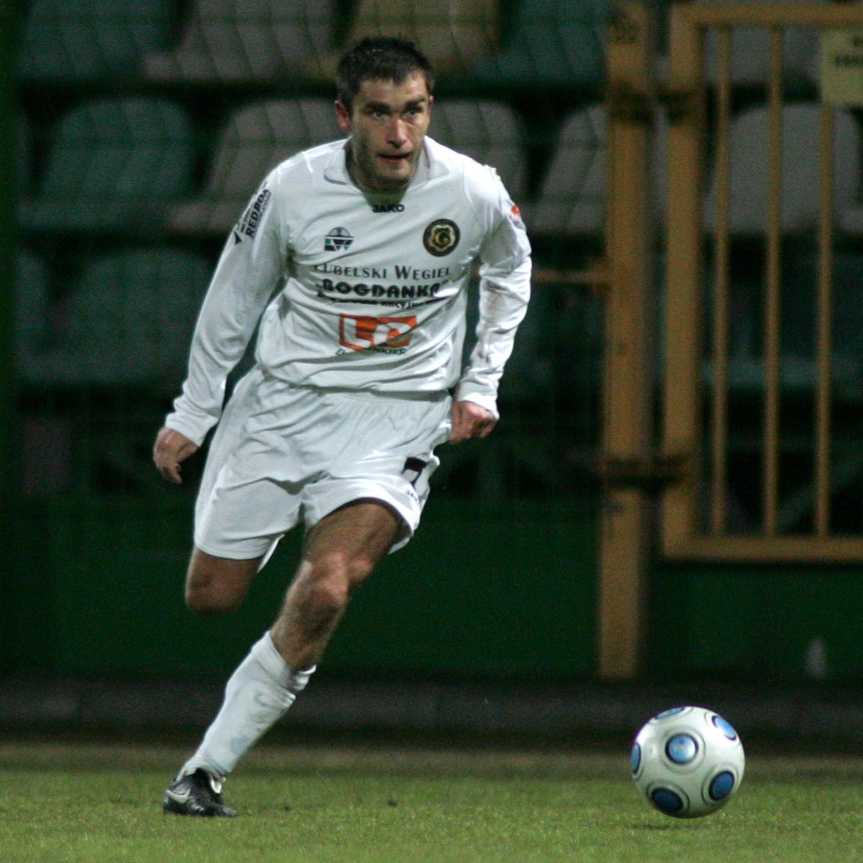 Grzegorz Bronowicki w barwach Górnika Łęczna.