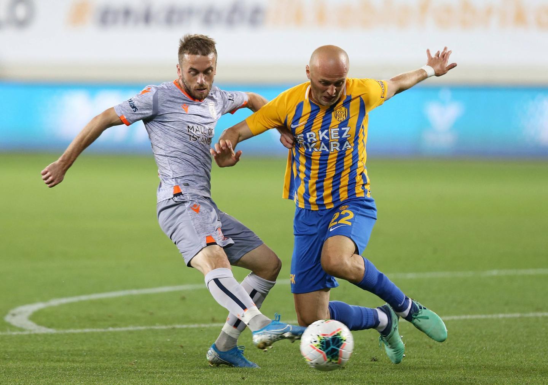 Michał Pazdan w barwach Ankaragücü.