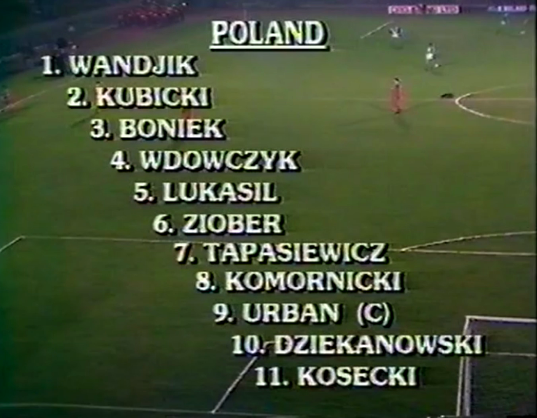 Skład reprezentacji Polski na mecz z Irlandią Północną