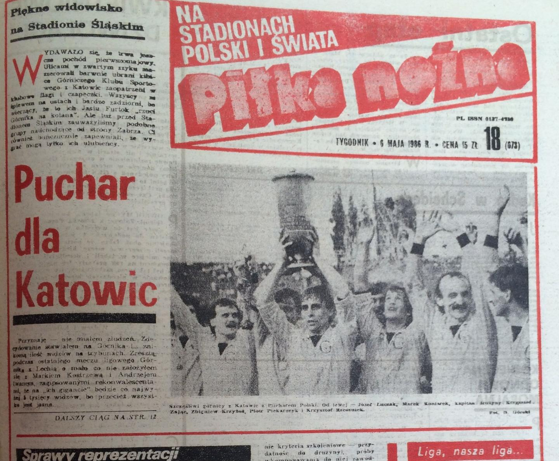 Piłka Nożna po Katowice - Górnik Z. (01.05.1986) 1