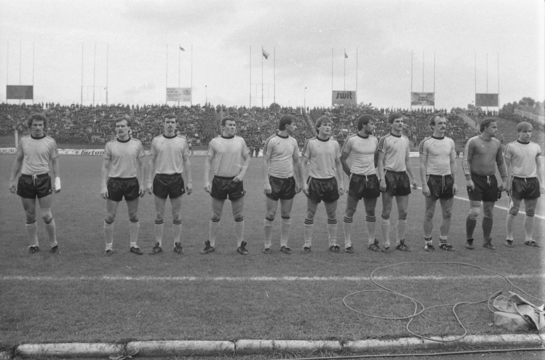 GKS Katowice przed meczem Widzew Łódź - GKS Katowice 0:0, k. 3:1 (26.06.1985).