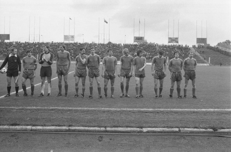 Widzew Łódź przed meczem Widzew Łódź - GKS Katowice 0:0, k. 3:1 (26.06.1985).