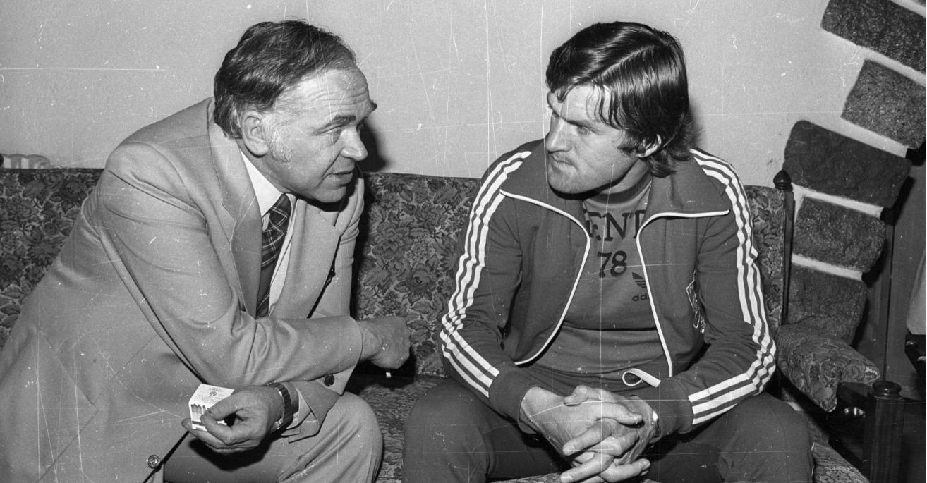 Jan Ciszewski rozmawia z Włodzimierzem Lubańskim