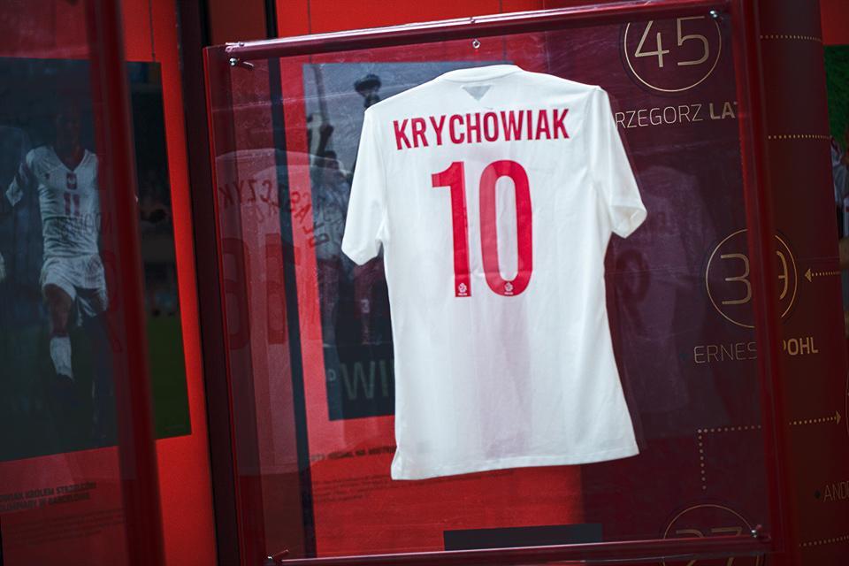 Koszulka Grzegorza Krychowiaka - tył