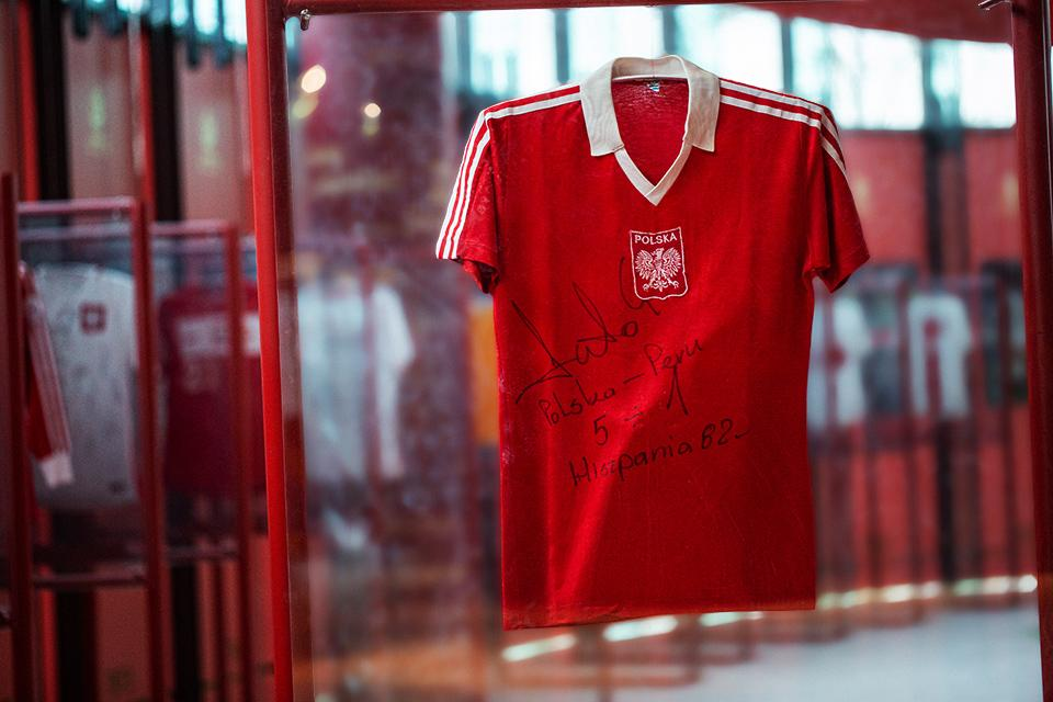 Koszulka Grzegorza Laty - przód