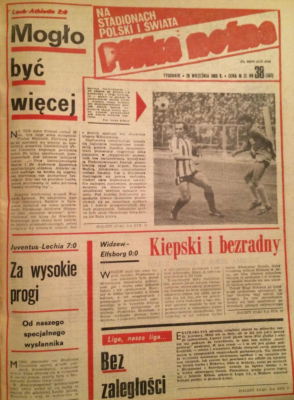 Piłka Nożna po Juventus - Lechia 7:0 (14.09.1983) 1