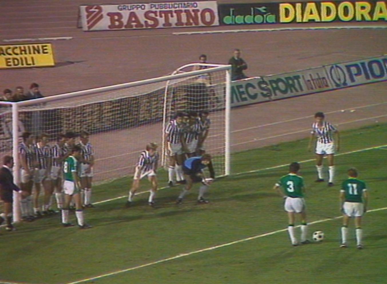 Juventus Turyn - Lechia Gdańsk 7:0 (14.09.1983)