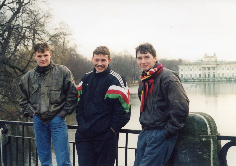 Krzysztof Ratajczyk, Wojciech Kowalczyk, Dariusz Czykier (Legia)