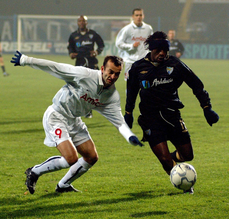 Amica Wronki - Malaga CF 1:2 (12.11.2002)