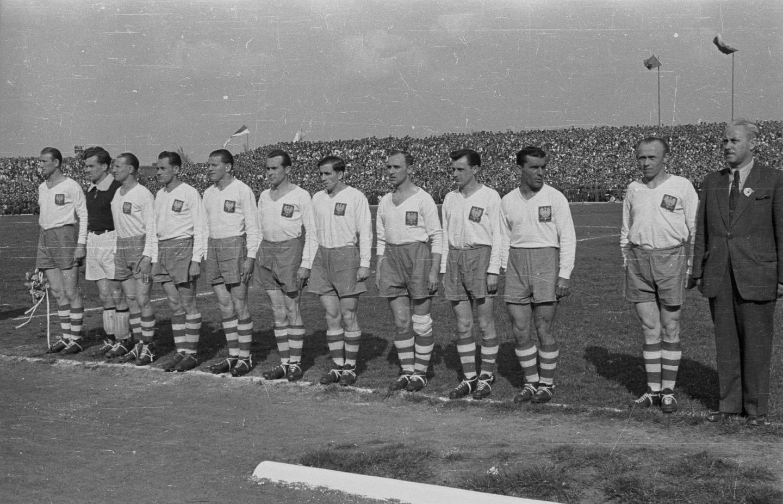 Polska – Czechosłowacja 3:1 (18.04.1948)