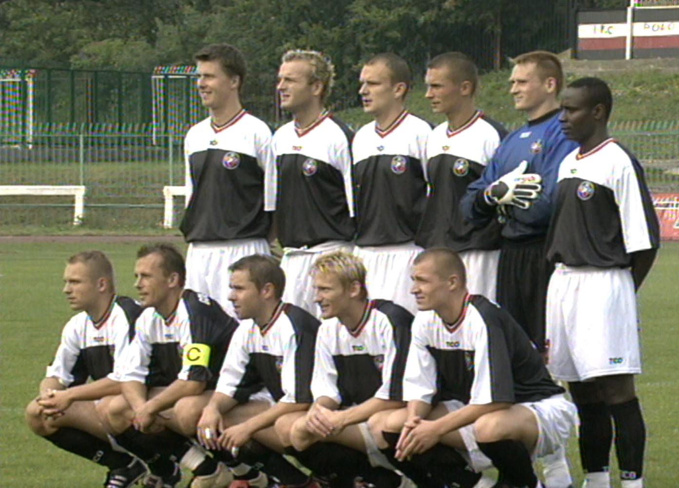 Polonia Warszawa - Sliema Wanderers 2:0 (29.08.2002)