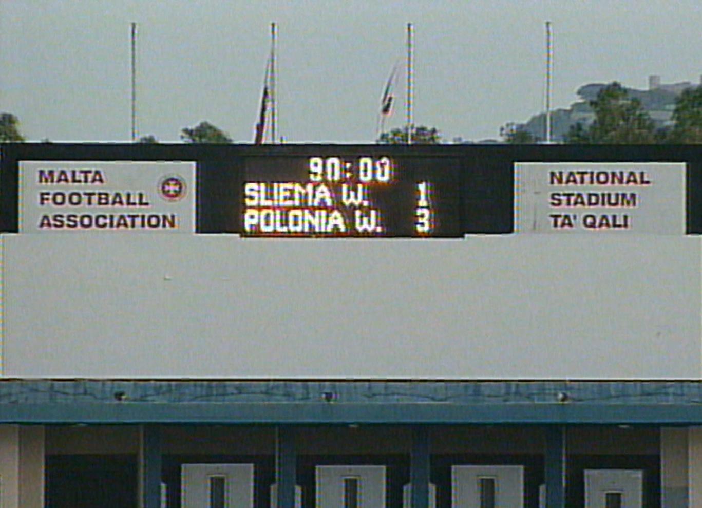 Sliema Wanderers - Polonia Warszawa 1:3 (15.08.2002)