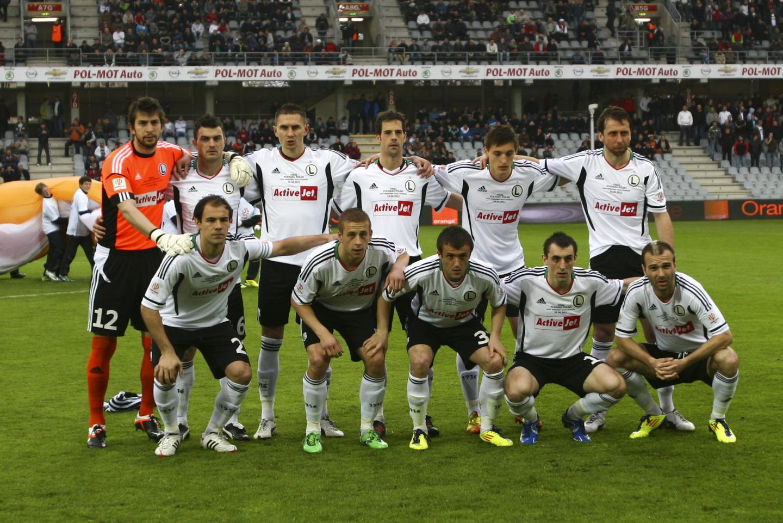 Legia Warszawa - Ruch Chorzów 3:0 (24.04.2012)