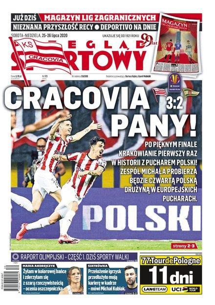 Cracovia - Lechia Gdańsk 3:2 (24.07.2020) Przegląd Sportowy