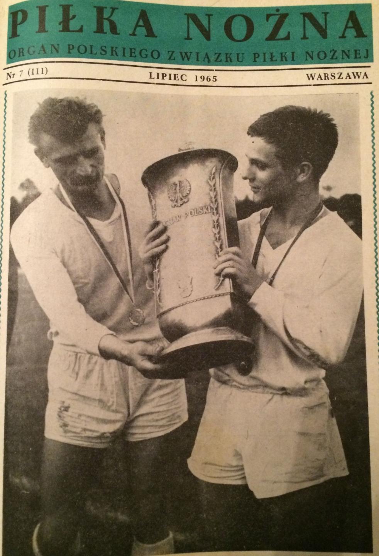 Piłka Nożna po Czarni Żagań - Górnik Zabrze 0:4 (02.06.1965) 1