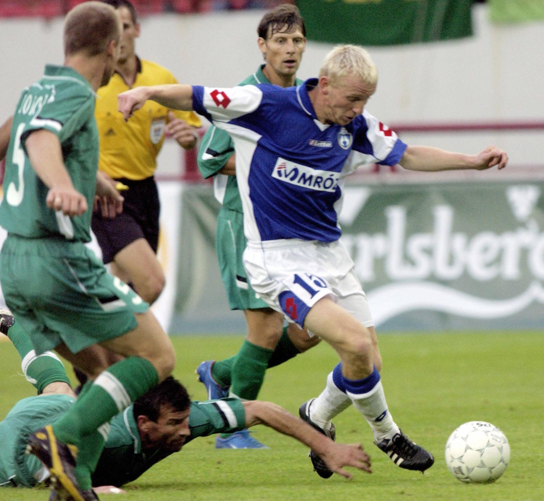 Terek Grozny - Lech Poznań 1:0 (12.08.2004) Paweł Sasin