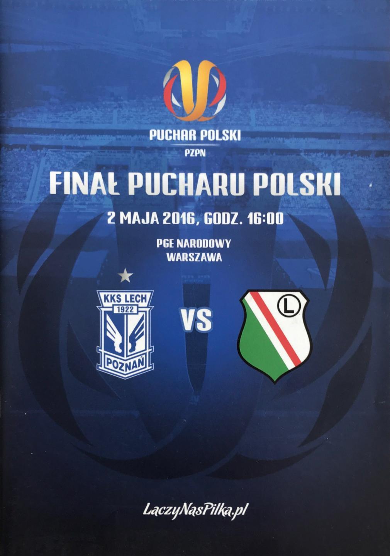 Program meczowy Lech Poznań - Legia Warszawa 0:1 (02.05.2016)