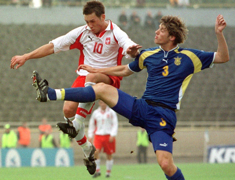Polska - Ukraina 3:0 (05.10.2001) Damian Gorawski