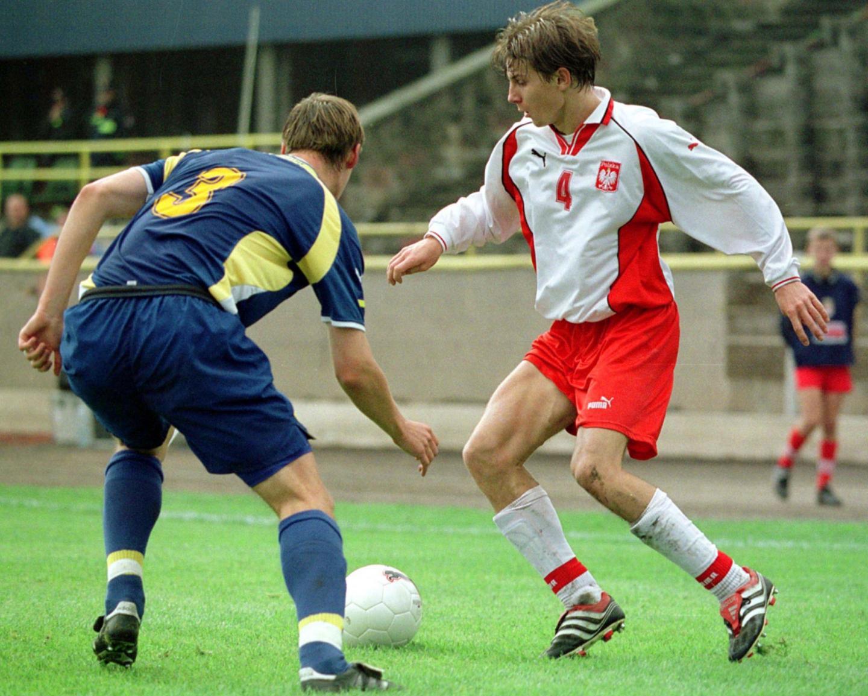 Polska - Ukraina 3:0 (05.10.2001) Euzebiusz Smolarek