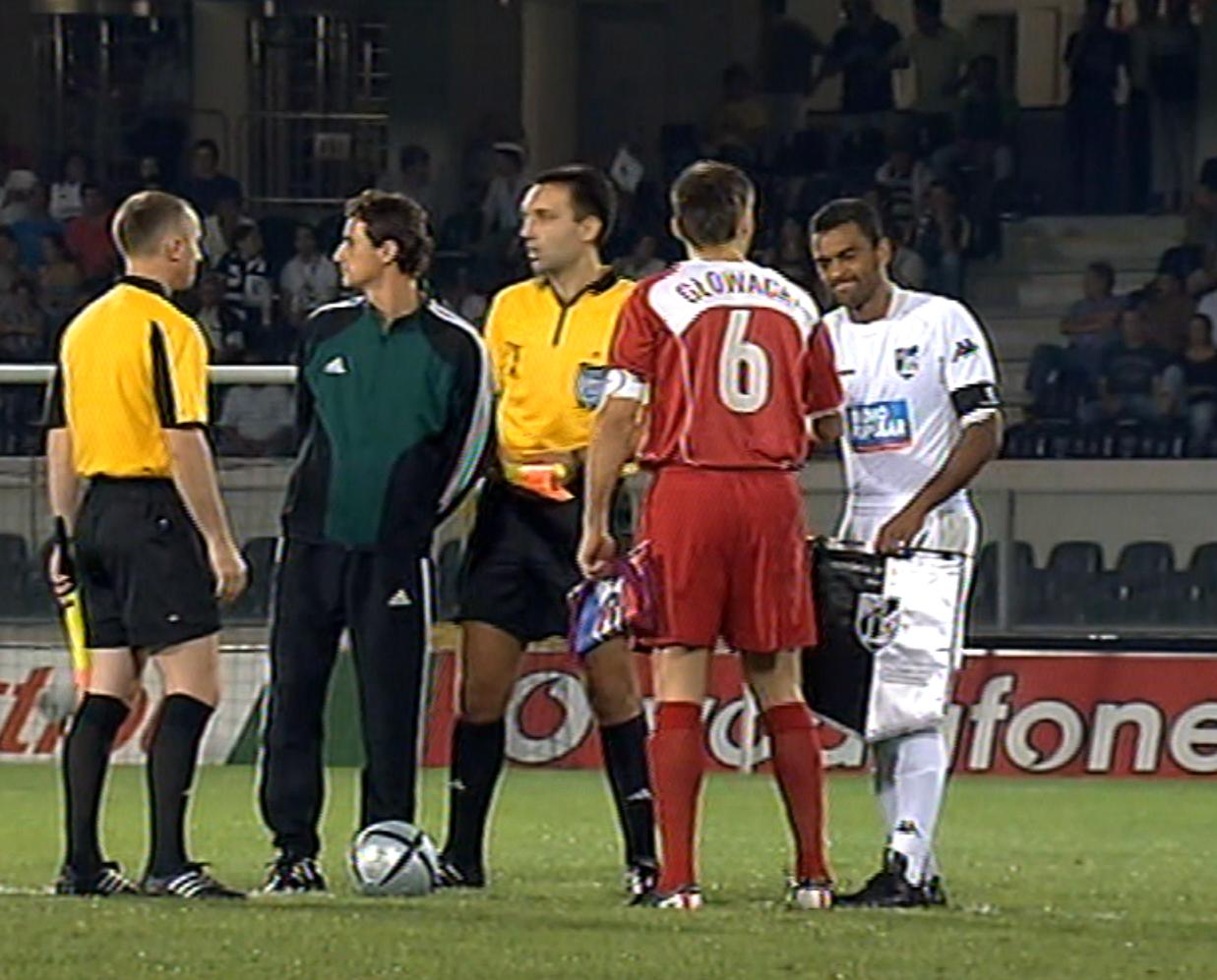 Vitória Guimarães - Wisła Kraków 3:0 (15.09.2005)