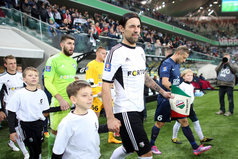 Legia Warszawa - Pogoń Szczecin 3:1 (30.10.2014)