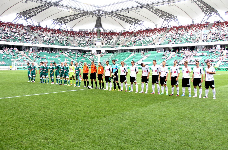Śląsk Wrocław - Legia Warszawa 1:1, k. 4-2 (12.08.2012).