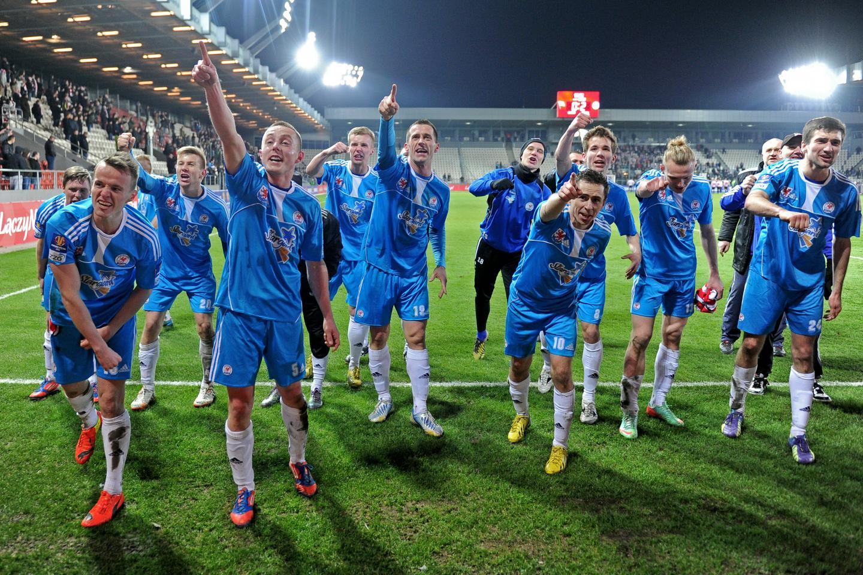 Cracovia - Błękitni Stargard Szczeciński 0:2 (17.03.2015)