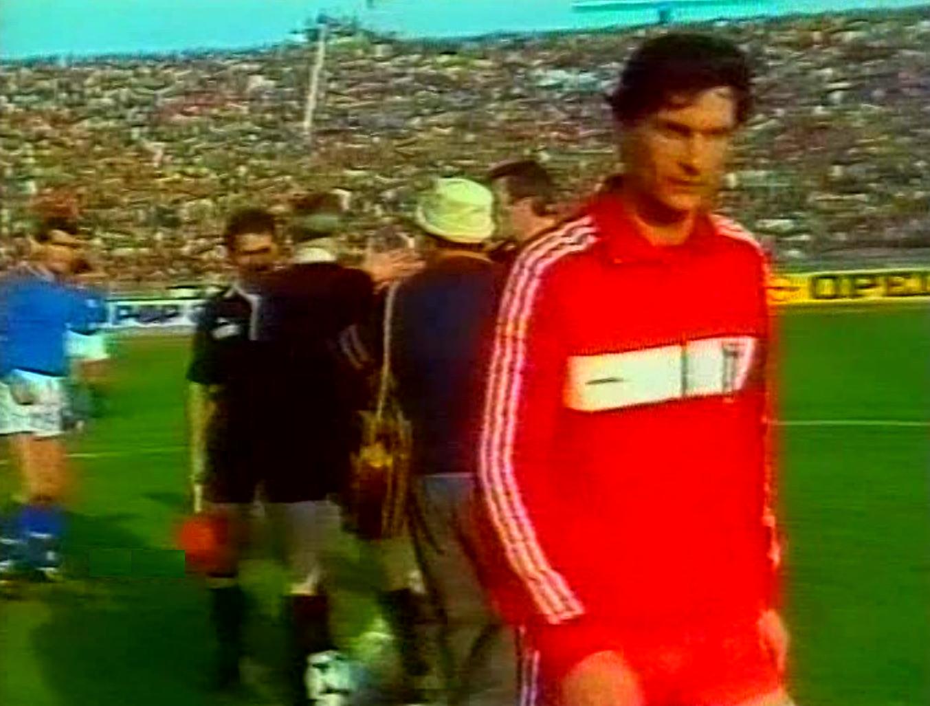 Włochy - Polska 2:0 (08.12.1984)