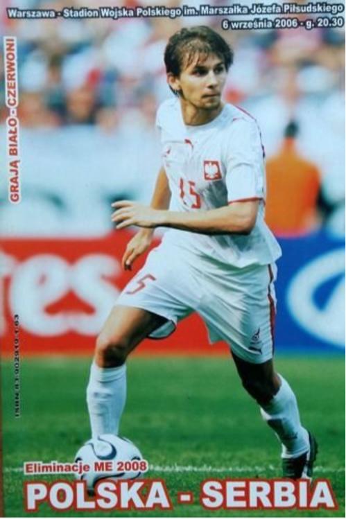 program meczowy polska - serbia (06.09.2006)