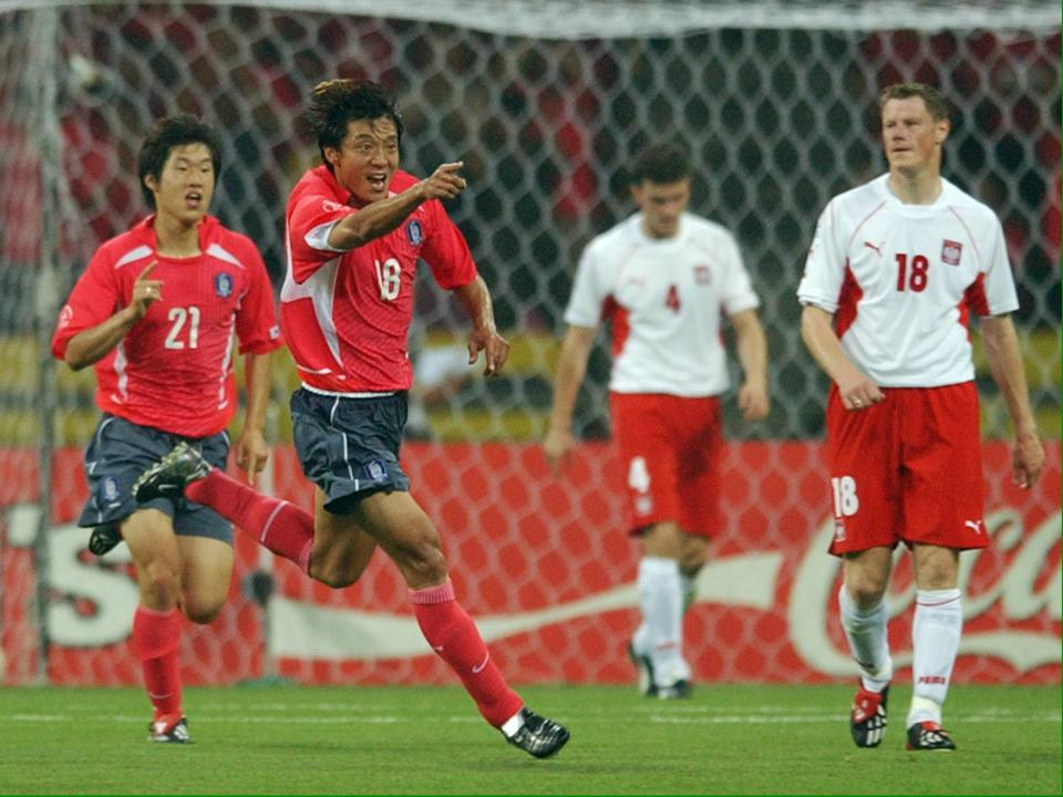Korea - Polska 4.06.2002