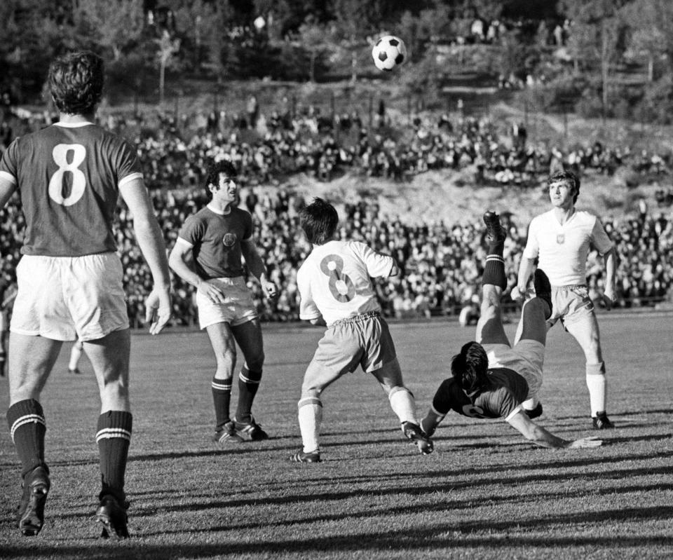 Mecz z Bułgarią w Starej Zagorze.