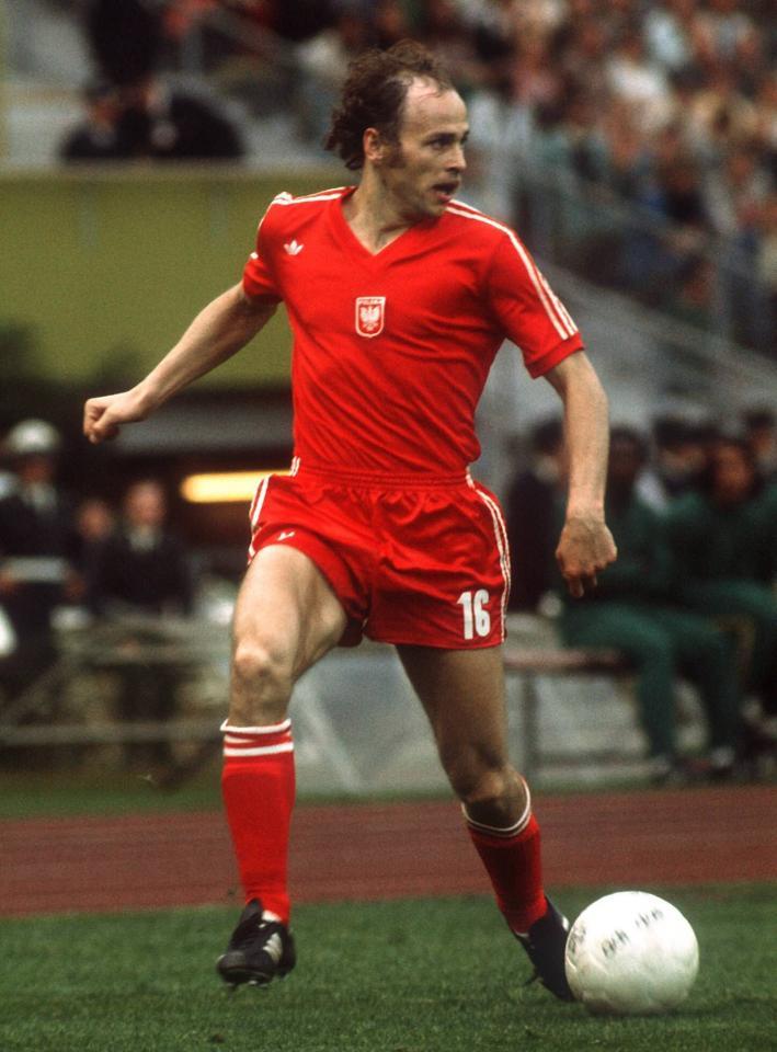 Polska - Brazylia 06.07.1974, Grzegorz Lato