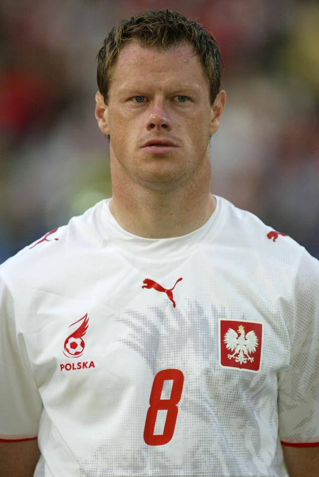 Azerbejdżan - Polska 1:3, 02.06.2007 - Jacek Krzynówek